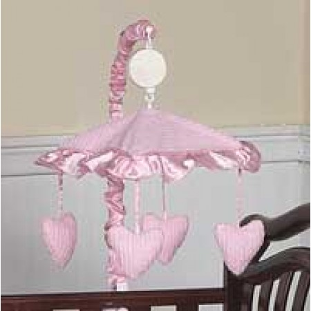 Chenille Pink Mobile