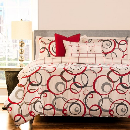 Circlet Duvet Set from the Studio Bedding Collection