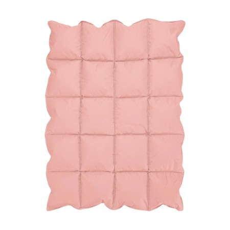 Coral Down Alternative Comforter / Blanket - Crib Size