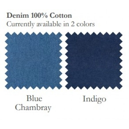 Blue Jean Drapes - Choose from 2 Shades of Denim