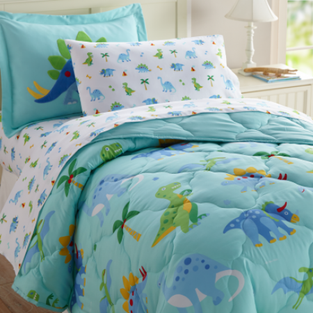 Dinosaur Land 5 pc Bed in a Bag - Twin