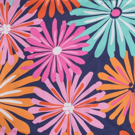 Crayola Dreaming of Daisies Square Pillow - 26 X 26 Euro Pillow