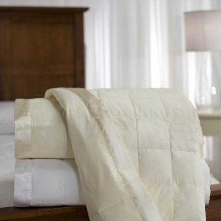 230 Thread Count Oversized Down Blanket with Satin Trim Down Blanket