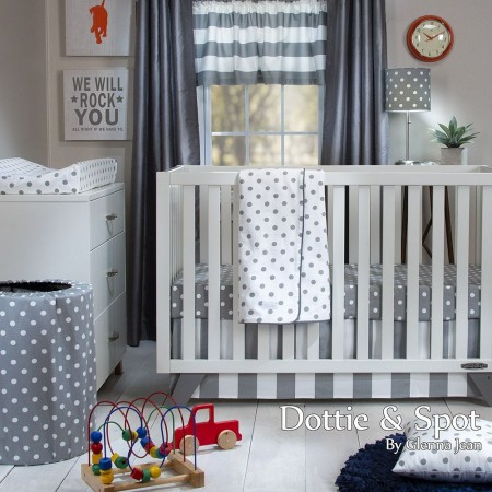 Dottie & Spot 3 Piece Crib Set