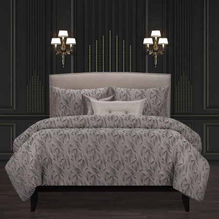 Fine Point Graphite Comforter Set - F. Scott Fitzgerald Bedding Collection