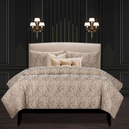 Fine Point Sable Comforter Set - F. Scott Fitzgerald Bedding Collection