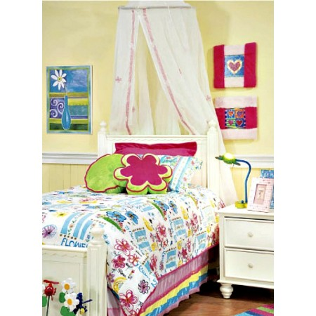Fiori Duvet Cover by California Kids
