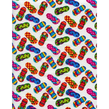 Flip Flop Duvet Cover by California Kids