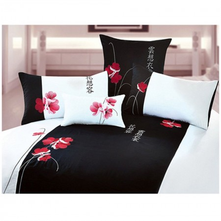 Florist Duvet and Sham Set - Queen Size