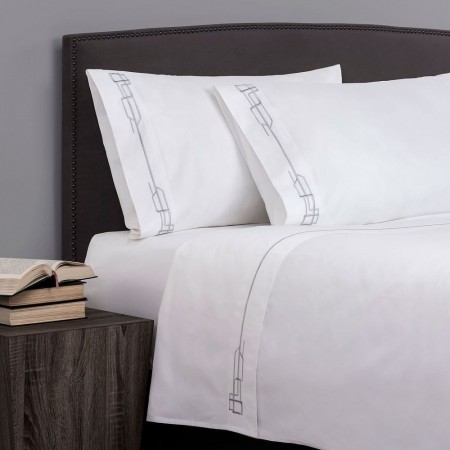 Hotel de Fitzgerald Luxury Cotton Sateen Sheet Sets - 800 Thread Count