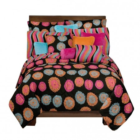 Flower Fantasy Comforter and Sham Set - Full Size - Clearance