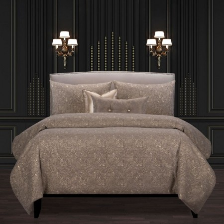 Garden Party Bronze Comforter Set - F. Scott Fitzgerald Primo Collection