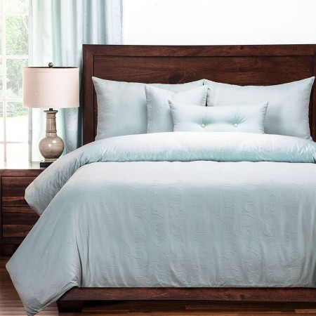 Gateway Sea Blue Bedding Set - Studio Collection by Polo Gear