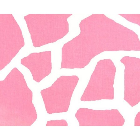 Pink Giraffe Print Bunkbed Hugger with 4 Fitted Corners