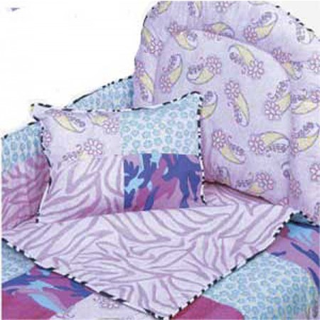 Go Girl 4 Piece Standard Crib Bedding Set by California Kids
