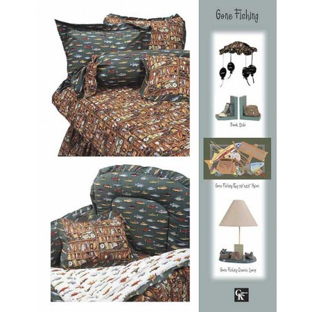 Gone Fishing Bunkie Sheet Set