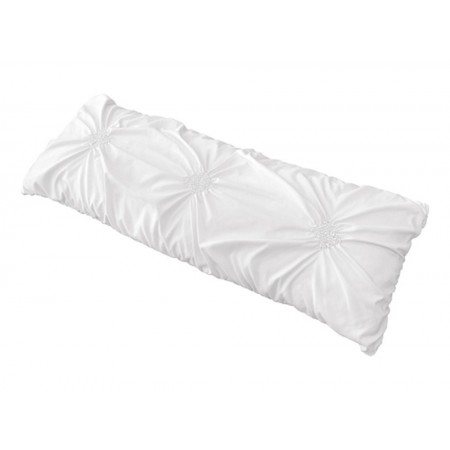White Harper Body Pillow Cover