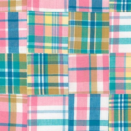 Pink Madras Plaid Bunkbed Hugger Comforter by California Kids