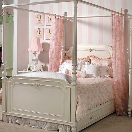 Isabella Pink Full Size Duvet Cover Set by California Kids - Clearance