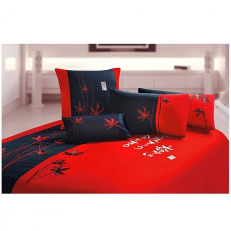 Japansese Maple Duvet and Sham Set - Queen Size