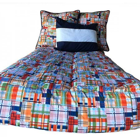 Classic Plaid 4-Sided Hugger Comforters by California Kids