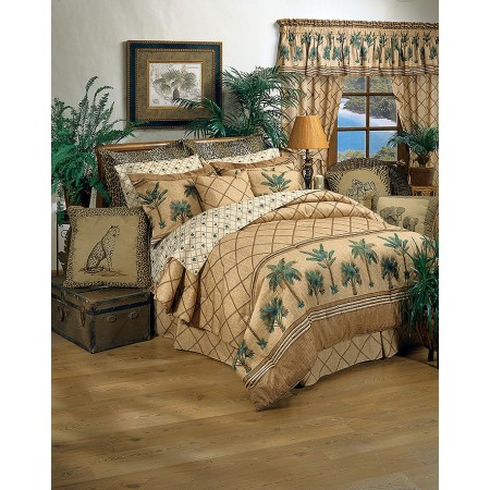 Kona Tropical Themed Bedding Set - Queen Size