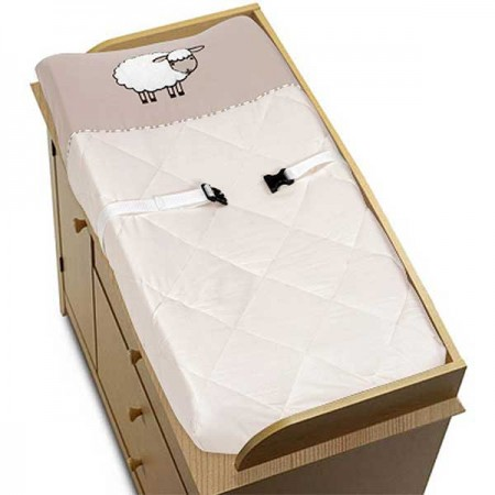 Little Lamb Changing Pad Cover