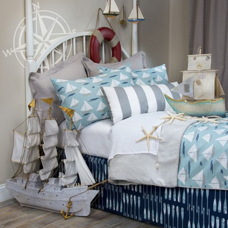 Lil Sailboat Duvet Cover