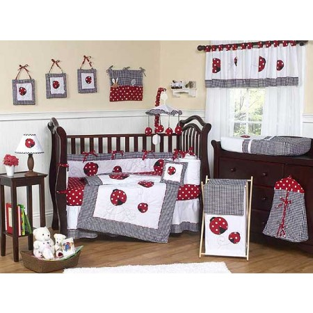 Little Ladybug Crib Set by Sweet Jojo Designs