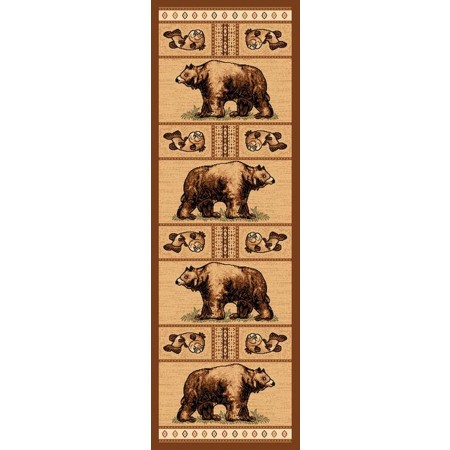 LODGE-360 Bear & Trout Runner