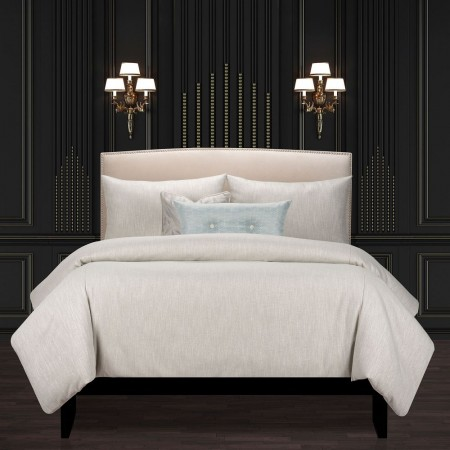 Lumiere Smoke Comforter Set - F. Scott Fitzgerald Bedding Collection