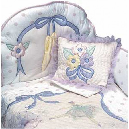 Little Dancer 4 Piece Standard Crib Bedding Set by California Kids