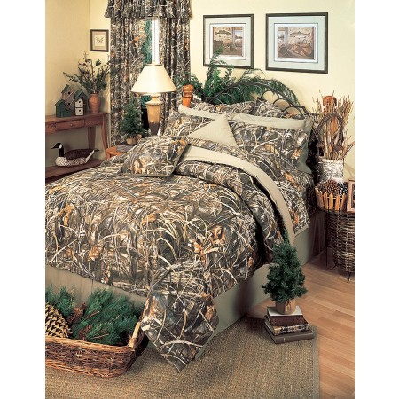 Realtree Max-4 Camouflage Comforter Set - California King Size