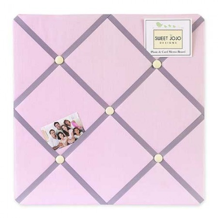 Butterfly Pink & Lavender Fabric Memo Board