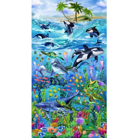 Ocean Reef Comforter by California Kids