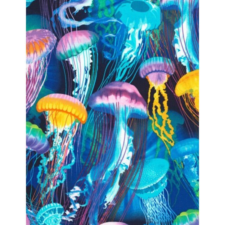 Jellyfish 4 Fitted Corners Hugger Comforters by California Kids