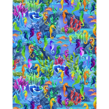 Seahorses Comforter by California Kids