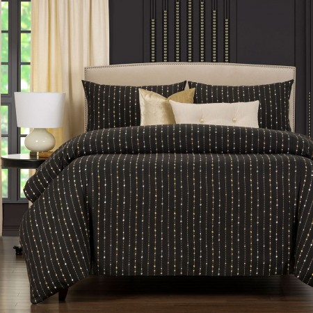 Midnight Champagne Comforter Set - F. Scott Fitzgerald Primo Collection