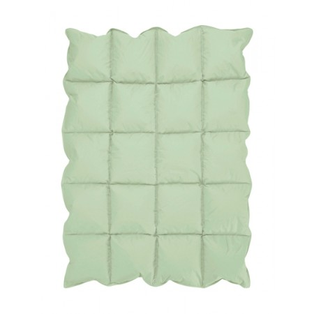 Mint Green Down Alternative Comforter / Blanket - Crib Size