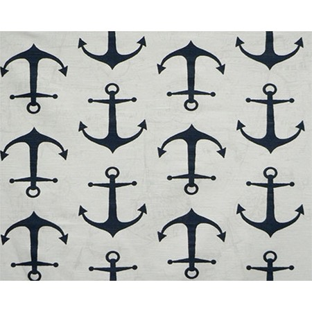 Navy Anchor 4 Fitted Corners Hugger Comforters by California Kids