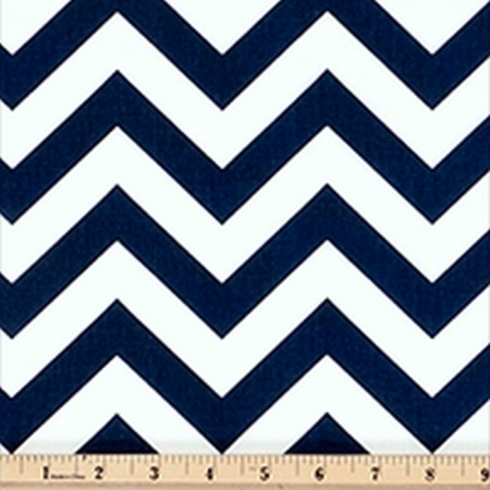 Zig-Zag Bunkbed Hugger Comforter by California Kids - Navy Blue & White