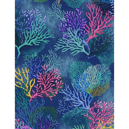 Coral Reef 4-Sided Hugger Comforter by California Kids