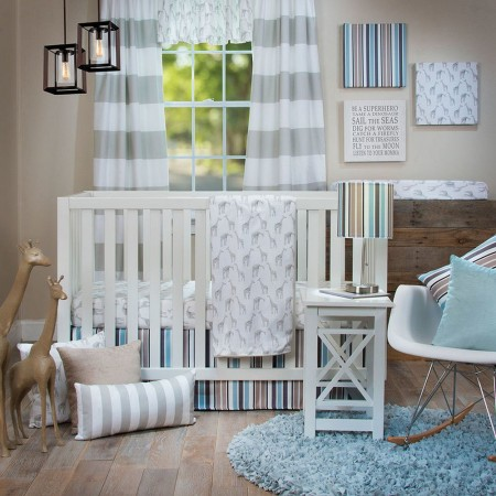 Ollie & Jack 3 Piece Crib Set