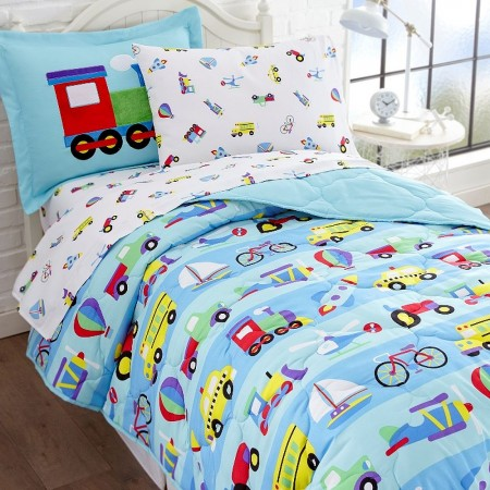 Olive Kids On The Go Full Size 7 piece Bed in a Bag Set