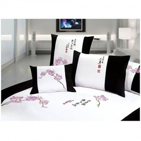 Orchid Duvet and Sham Set - King Size
