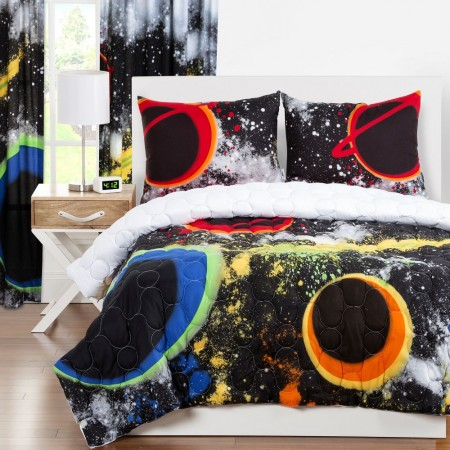 Crayola Out of This World Comforter Set - Twin Size