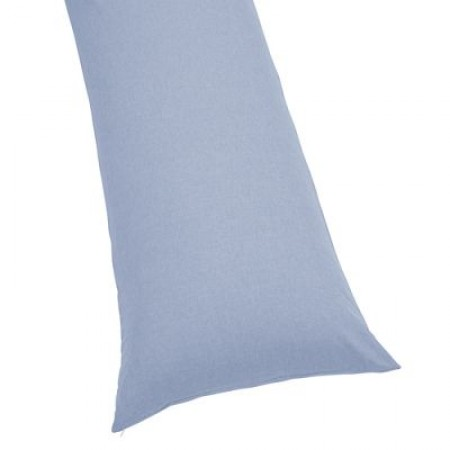 Chambray Body Pillow Cover