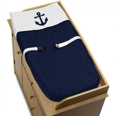 Anchors Away Changing Pad Cover