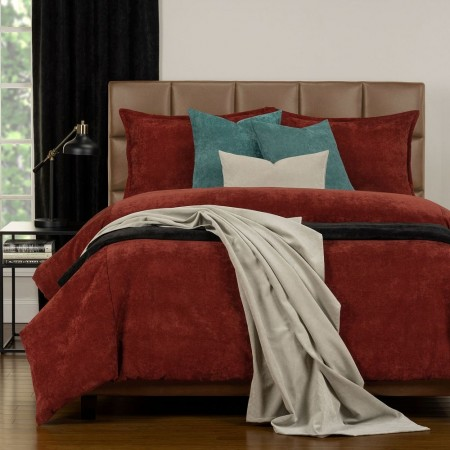 Duvet Cover Set from the Mixology Collection - Twin Size - Bronze
