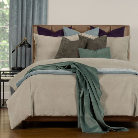 Duvet Cover Set from the Mixology Collection - King Size - Parchment